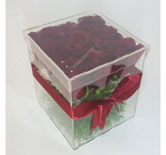 جعبه گل پلکسی