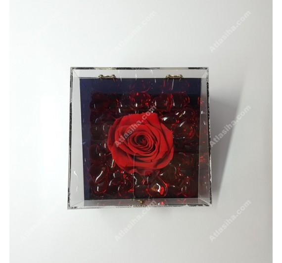 جعبه گل رز جاودان