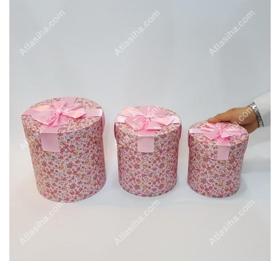 جعبه گل استوانه ای
